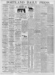 Portland Daily Press: November 2, 1876