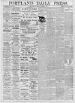 Portland Daily Press: November 3, 1876