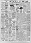 Portland Daily Press: November 4, 1876