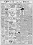 Portland Daily Press: November 6, 1876