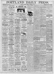 Portland Daily Press: November 7, 1876