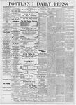 Portland Daily Press: November 8, 1876