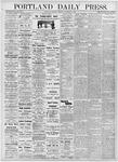 Portland Daily Press: November 9, 1876