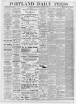 Portland Daily Press: November 10, 1876