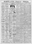 Portland Daily Press: November 11, 1876