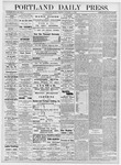 Portland Daily Press: November 13, 1876
