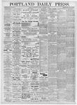 Portland Daily Press: November 15, 1876