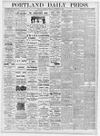 Portland Daily Press: November 16, 1876