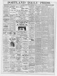 Portland Daily Press: November 18, 1876