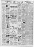 Portland Daily Press: November 20, 1876