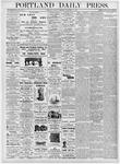 Portland Daily Press: November 21, 1876