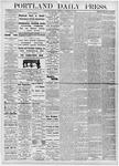 Portland Daily Press: November 23, 1876