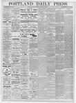 Portland Daily Press: November 24, 1876