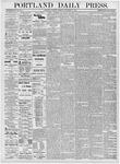 Portland Daily Press: November 25, 1876