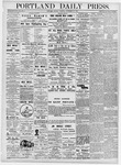 Portland Daily Press: November 27, 1876