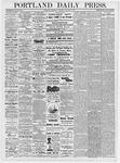 Portland Daily Press: January 3, 1877