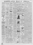 Portland Daily Press: January 8, 1877