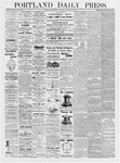 Portland Daily Press: January 10, 1877