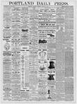 Portland Daily Press: January 11, 1877