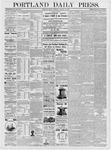 Portland Daily Press: January 19, 1877