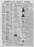 Portland Daily Press: January 22, 1877