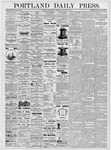 Portland Daily Press: January 24, 1877