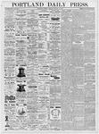 Portland Daily Press: January 27, 1877
