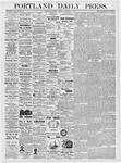 Portland Daily Press: February 3, 1877