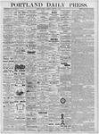 Portland Daily Press: February 9, 1877