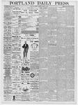 Portland Daily Press: March 6, 1877