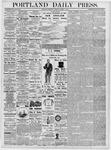 Portland Daily Press: March 8, 1877