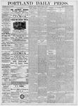 Portland Daily Press: March 13, 1877