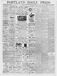 Portland Daily Press: March 14, 1877