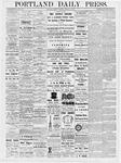 Portland Daily Press: March 23, 1877