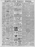 Portland Daily Press: March 24, 1877