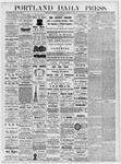 Portland Daily Press: March 28, 1877
