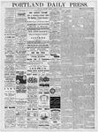 Portland Daily Press: March 31, 1877