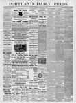 Portland Daily Press: May 2, 1877