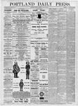 Portland Daily Press: June 29, 1877