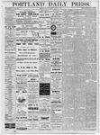 Portland Daily Press: July 13, 1877