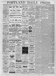 Portland Daily Press: July 14, 1877