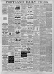Portland Daily Press: July 25, 1877