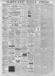 Portland Daily Press: August 3, 1877