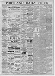 Portland Daily Press: August 4, 1877