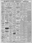 Portland Daily Press: August 9, 1877
