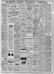 Portland Daily Press: August 11, 1877