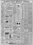 Portland Daily Press: August 23, 1877