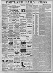 Portland Daily Press: August 28, 1877