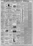 Portland Daily Press: August 29, 1877