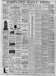 Portland Daily Press: August 31, 1877